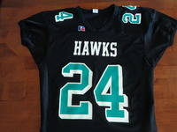 jersey with black cuffs